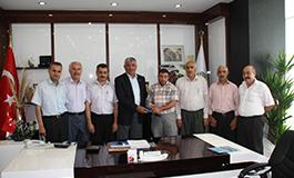 ATSO Başkanı Uslu'ya Nezaket Ziyareti