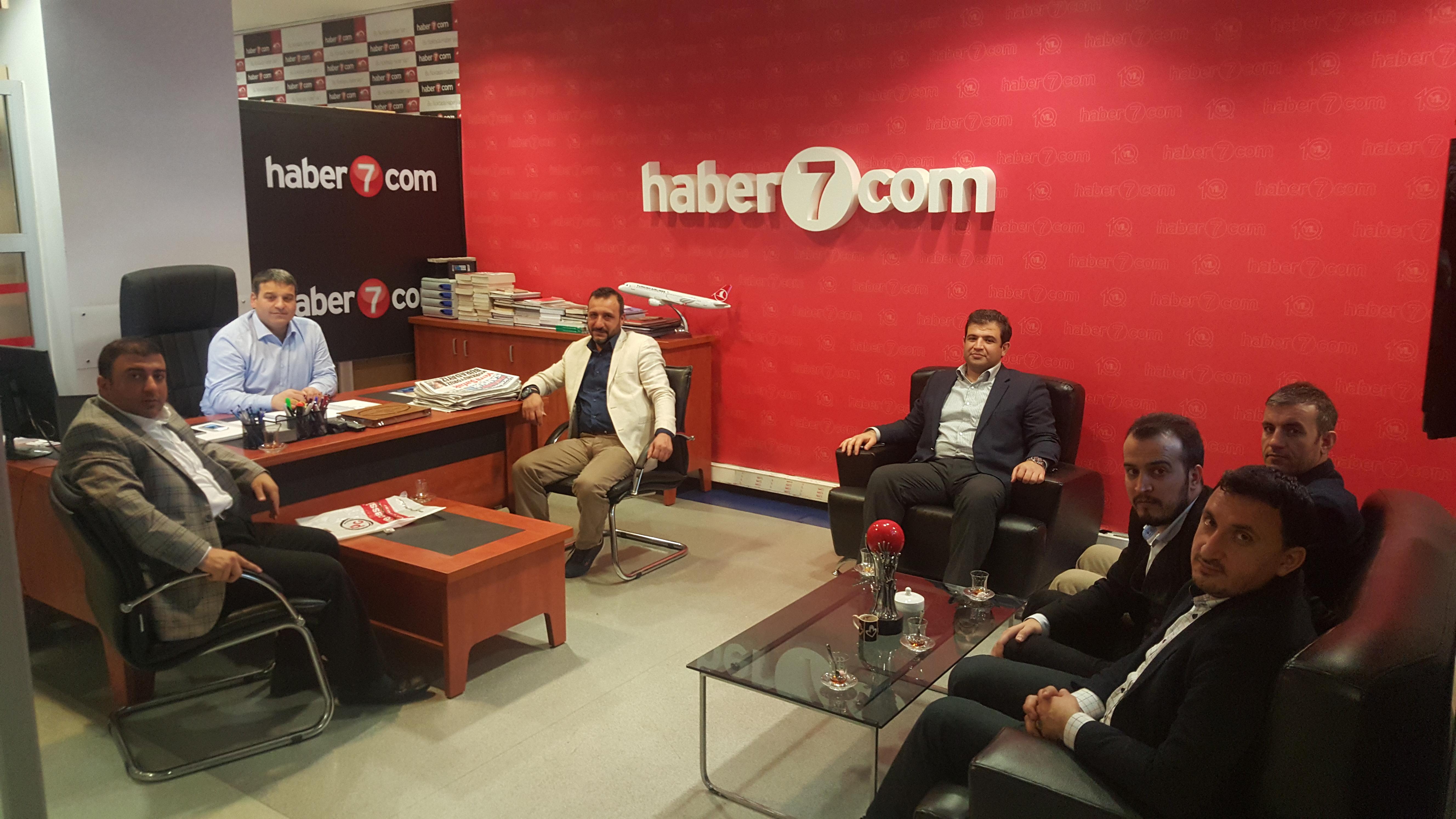 AGİD'ten haber7.com'a Nezaket Ziyareti